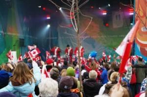 2010 Olympic celebration - Sechelt BC